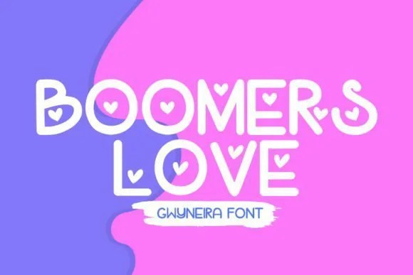 Boomers Love [1 Font] | The Fonts Master