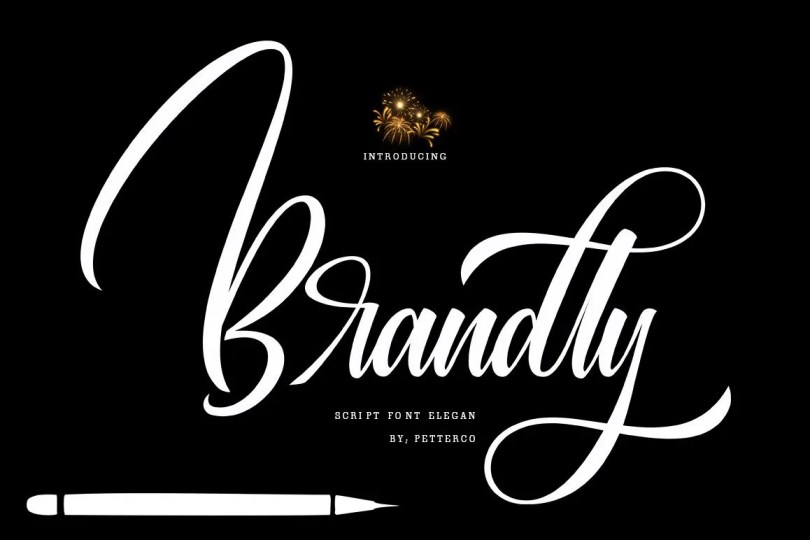 Brandly [1 Font] | The Fonts Master