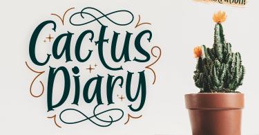 Cactus Diary [1 Font]