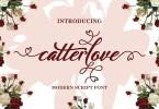 Catterlove [1 Font] | The Fonts Master