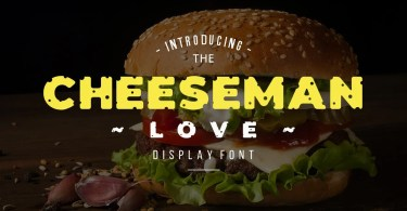 Cheeseman Love [1 Font]