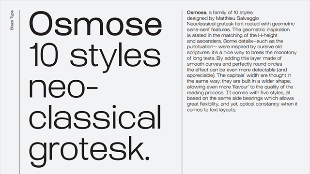 At Osmose Super Family [10 Fonts] | The Fonts Master