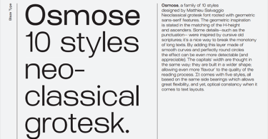 AT Osmose Super Family [10 Fonts]