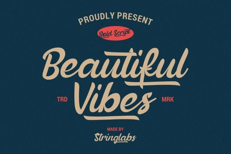 Beautiful Vibes [1 Font]   The Fonts Master