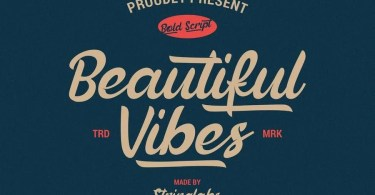Beautiful Vibes [1 Font]