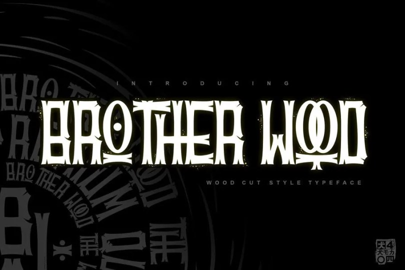 Brotherwood [1 Font] | The Fonts Master