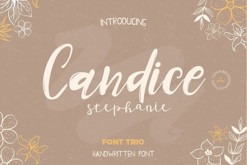 Candice [5 Fonts]   The Fonts Master
