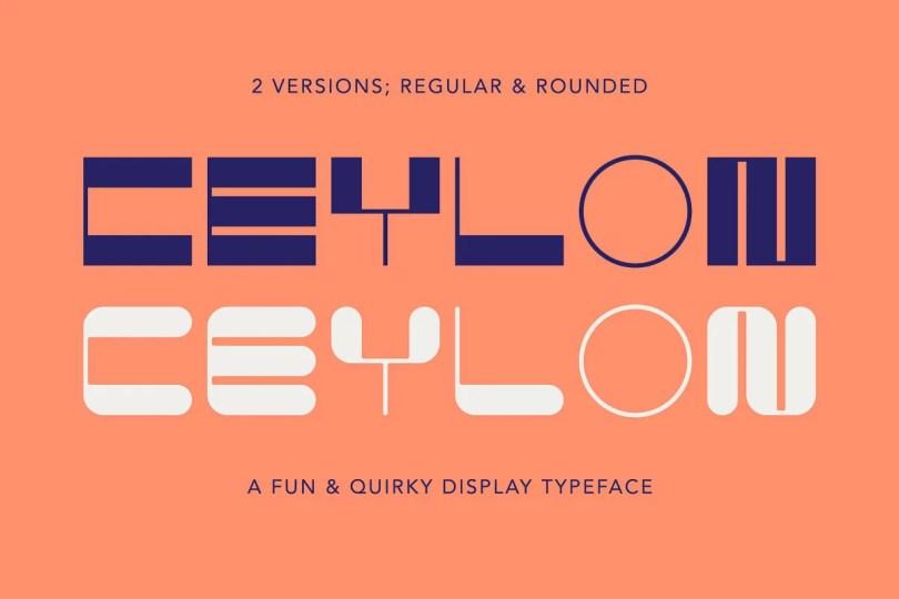 Ceylon [2 Fonts] | The Fonts Master