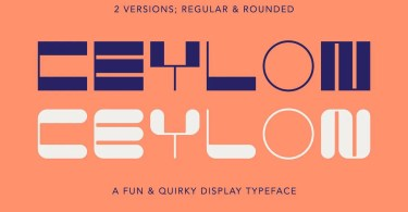 Ceylon [2 Fonts] | The Fonts Master