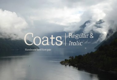 Coats Regular & Coats Italic [2 Fonts]