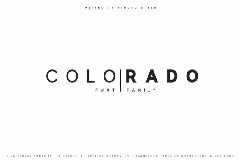 Colorado [2 Fonts]