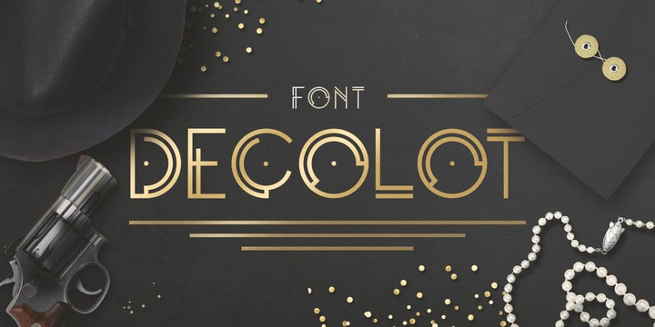 Decolot [1 Font] | The Fonts Master