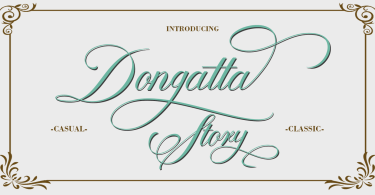 Dongatta Story [1 Font]   The Fonts Master
