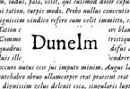 Dunelm [2 Fonts] | The Fonts Master