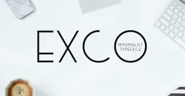 Exco [4 Fonts] | The Fonts Master