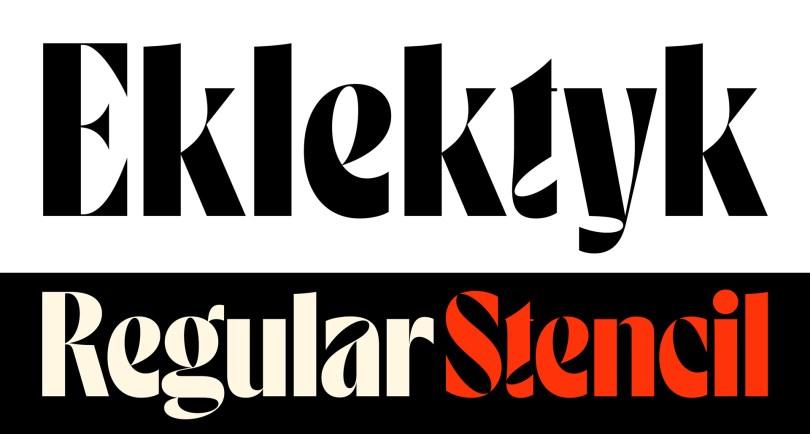 Eklektyk [2 Fonts]   The Fonts Master