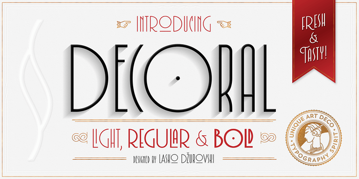 Decoral [3 Fonts] | The Fonts Master