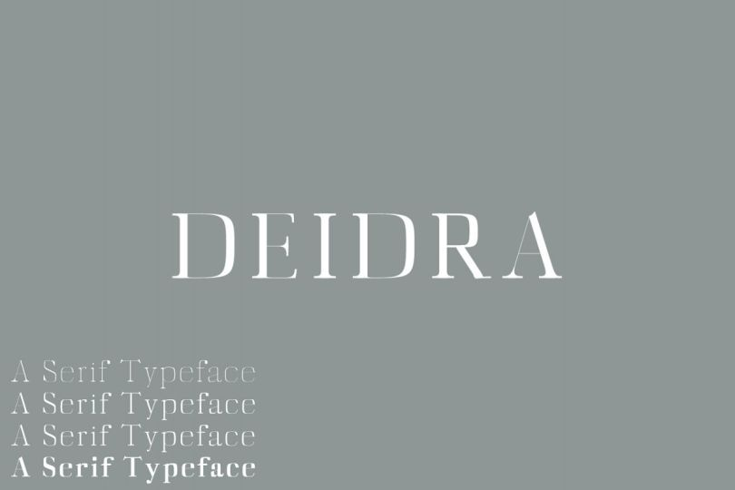 Diedra [4 Fonts] | The Fonts Master