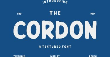 Cordon [2 Fonts] | The Fonts Master