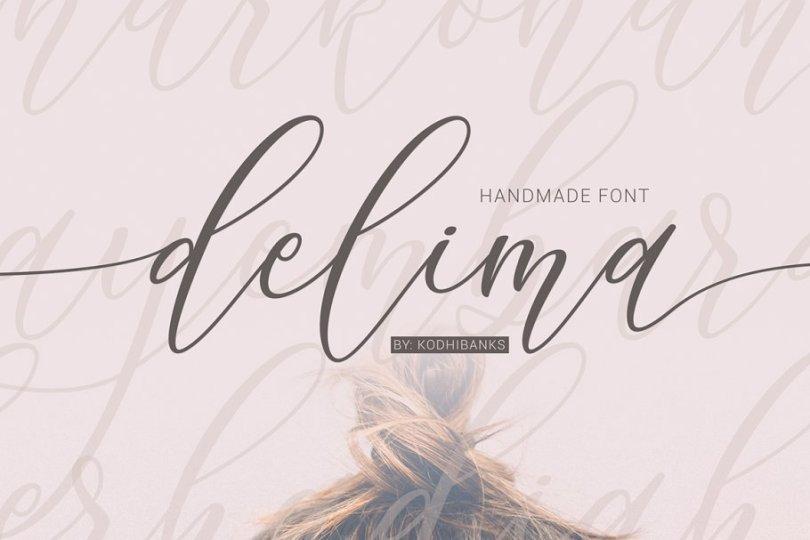 Delima [1 Font] | The Fonts Master