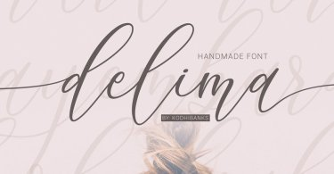 Delima [1 Font] | The Fonts Master