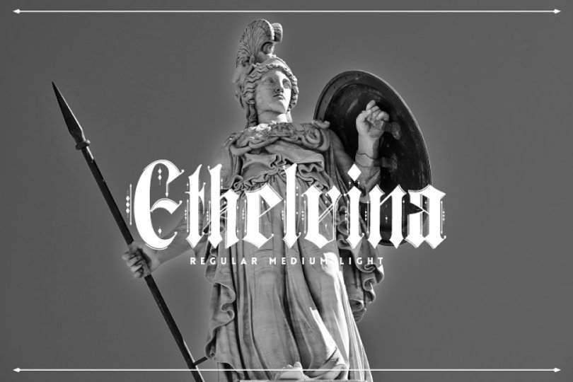 Ethelvina [3 Fonts] | The Fonts Master