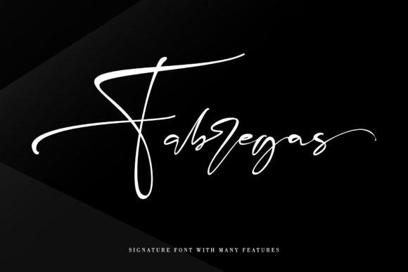Fabregas [1 Font] | The Fonts Master