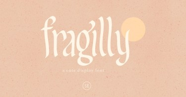 Fragilly [1 Font] | The Fonts Master