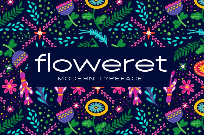 Floweret [1 Font] | The Fonts Master