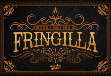 Fringilla [2 Fonts] | The Fonts Master