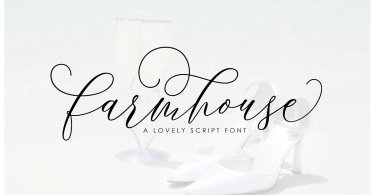 Farmhouse Script [1 Font] | The Fonts Master