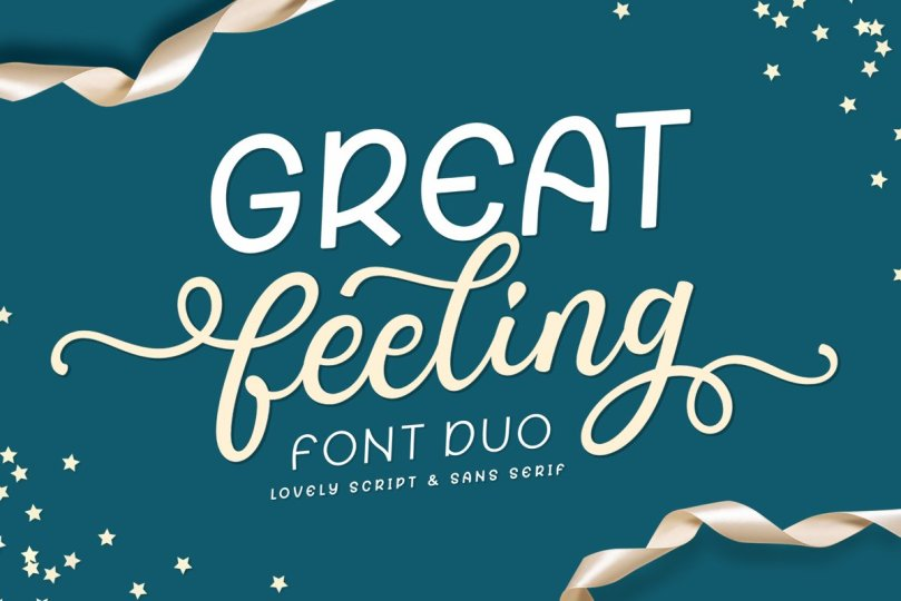 Great Feeling [2 Fonts] | The Fonts Master
