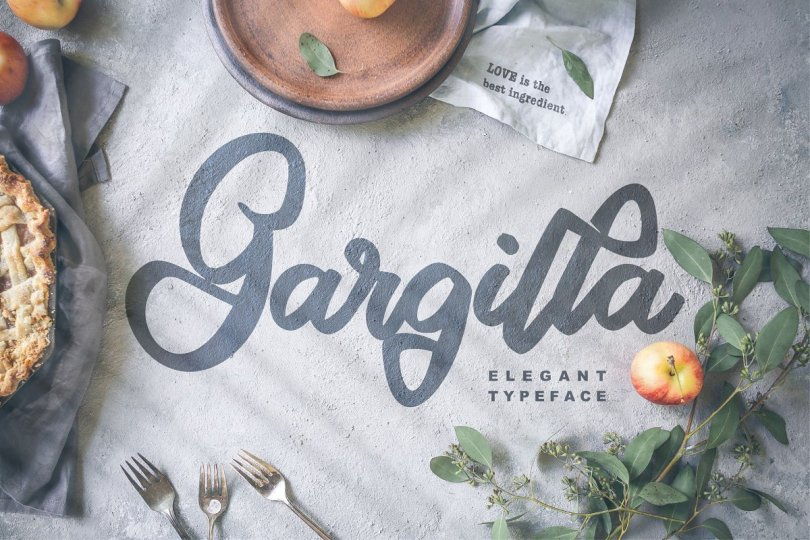 Gargilla [1 Font] | The Fonts Master