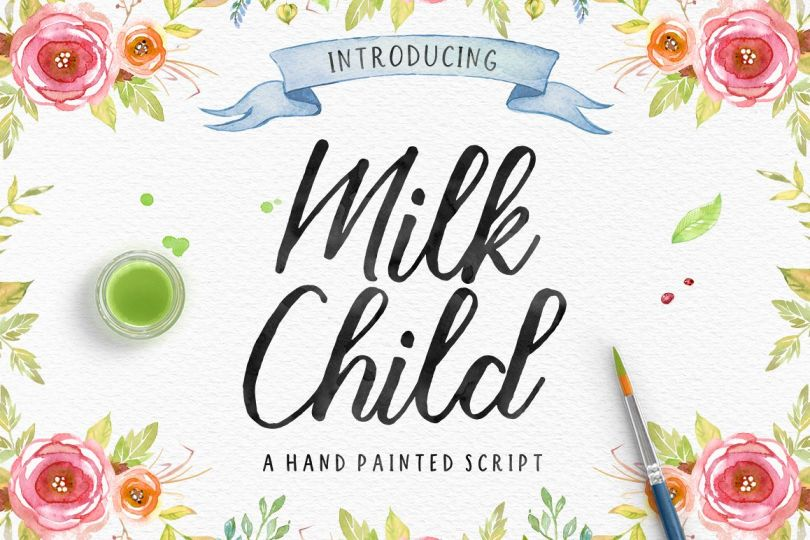 Milk Child [1 Font] | The Fonts Master