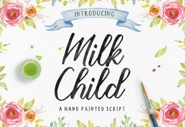 Milk Child [1 Font] | The Fonts Master