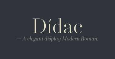 Didac Super Family [10 Fonts] | The Fonts Master