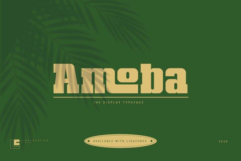 Amoba [1 Font] | The Fonts Master