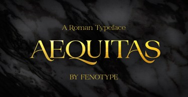 Aequitas [3 Fonts] | The Fonts Master
