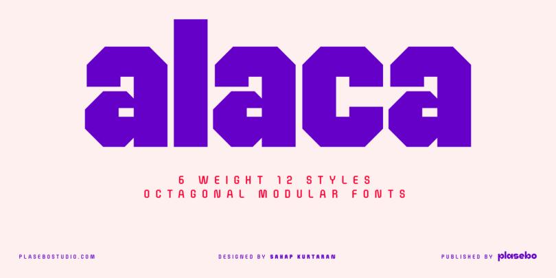 Alaca [12 Fonts] | The Fonts Master