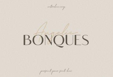 Angelic Bonques [3 Fonts] | The Fonts Master