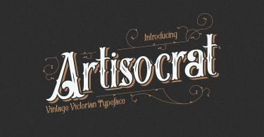 Artisocrat [1 Font] | The Fonts Master