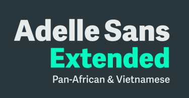 Adelle Sans Extended Super Family [14 Fonts] | The Fonts Master