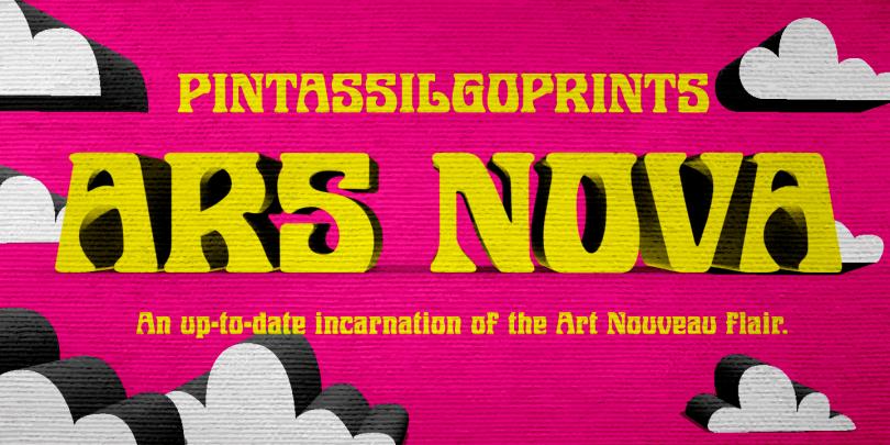 Ars Nova [1 Font]   The Fonts Master