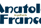 Anatole France [1 Font] | The Fonts Master