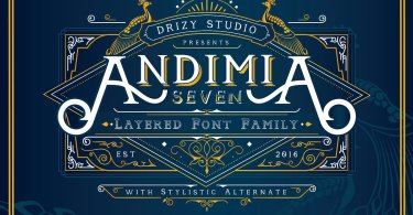 Andimia [7 Fonts] | The Fonts Master