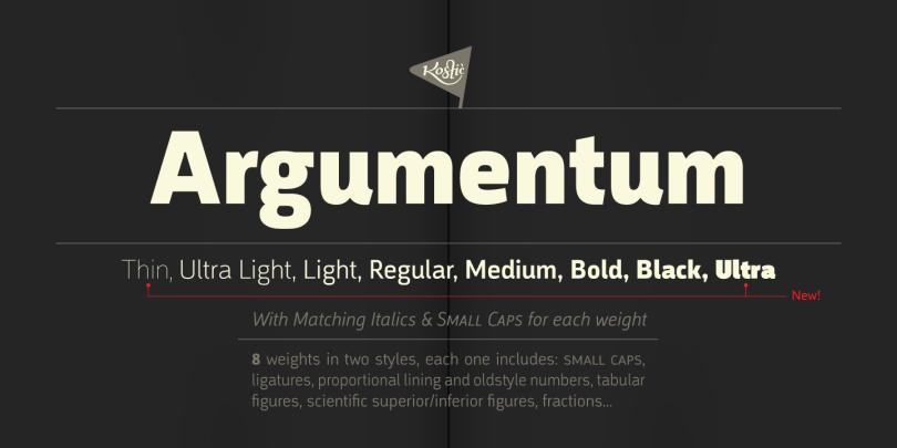 Argumentum Super Family [16 Fonts] | The Fonts Master