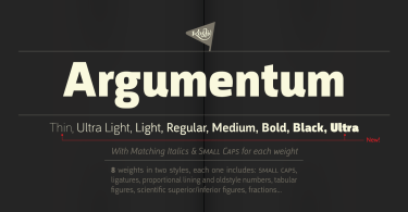 Argumentum Super Family [16 Fonts] | The Fonts Master