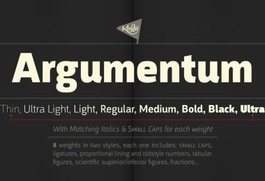 Argumentum Super Family [16 Fonts]   The Fonts Master
