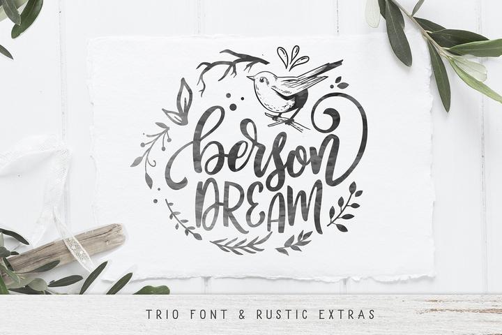 Berson Dream [4 Fonts] | The Fonts Master