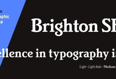 Brighton Sh [4 Fonts] | The Fonts Master